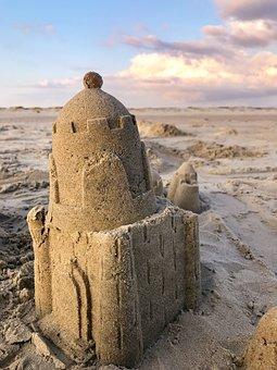 Sandburg, Beach, Summer, Build, Play