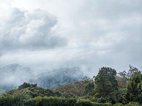 Landscape, Blue Sky, Nature, Hills