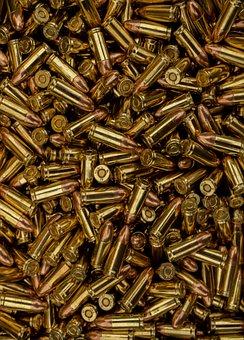 Ammunition, Ammo, Bullets, Brass, Bullet, Shooting