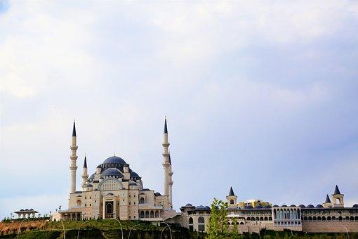 Cami, Minaret, Dome, Architecture, Islam