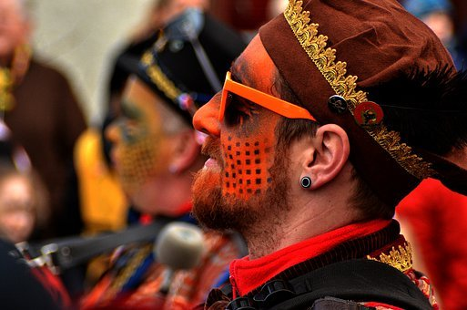 Carnival, Fasnet, Neuhausen, Mask, Fool, Move, Colorful