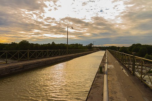 Channel, Canal Bridge, Water, Bridge, Sky