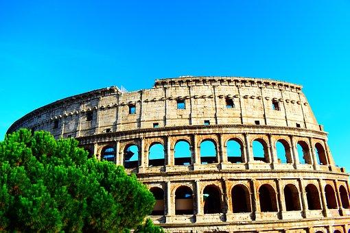 Rome, Antique, Coliseum, Italy, Architecture, Culture