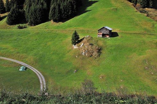 Alpine Village, Cottage, Meadow