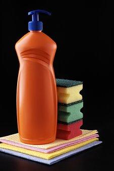 Detergent, Plastic, Housework, Disinfectant, Bottle