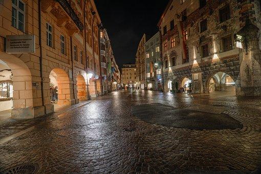 Historic District, Innsbruck, Downtown Of Innsbruck
