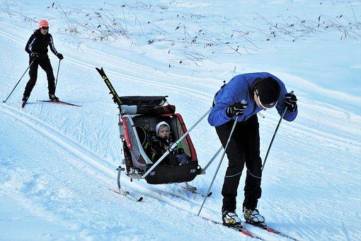 Skis, Snow, Family, Active Holidays, Cold, Ski, Snowy