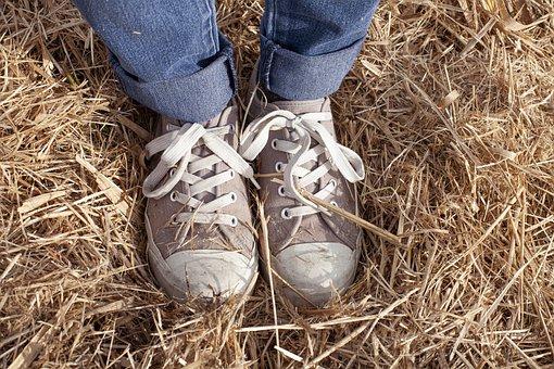 Sneaker, Shoe, Fashion, Fitness, Legs, Jeans, Footwear