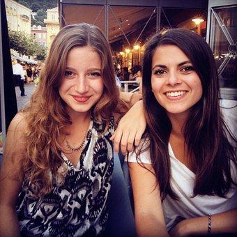 Women, Friendship, Lesbian, Restaurant, Friends, Woman