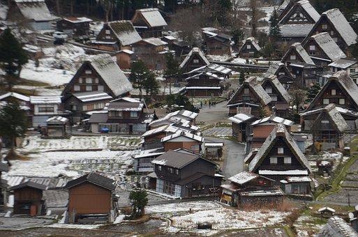 Shirakawa Xiang, Japan, Building, Gassho Village, House