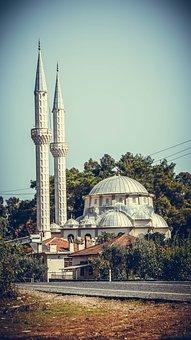 Mosque, Turkey, Vera, Islam, Sky