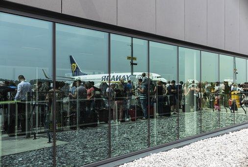 Airport, Jet, Travel, Aircraft, Flight, Departure, Sky
