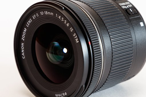 Lens, Canon, Zoom Lens Ef-S 10-18Mm
