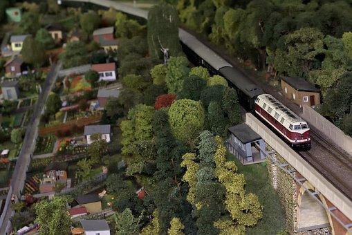 Model Railway, Diesel Locomotive, Toys, Locomotive