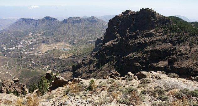 Gran Canaria, Mountains, Spain