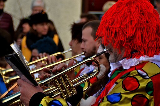 Carnival, Fasnet, Neuhausen, Mask, Fool, Move, Colorful