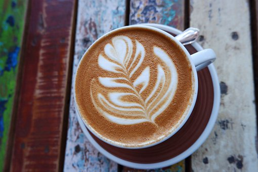 Cappuccino, Coffee, Café, Breakfast, Drink, Table, Mug