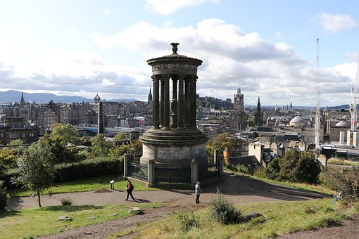 Calton Hill, Edinburgh, National Monument