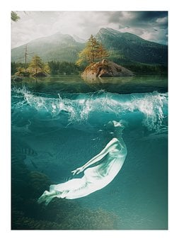 Underwater, Fantasy, Gothic, Dream, Sea
