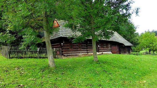 Architecture, Village, Slovakia, House, Travel, Old