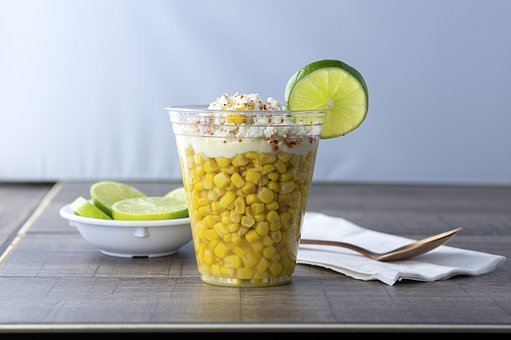 Corn, Lime, Mexican, Food, Snack, Cheese, Streetcorn