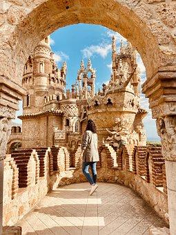 Castle, Monument, Architecture, Spain