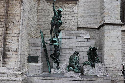 Images, Belgium, Image, Statue