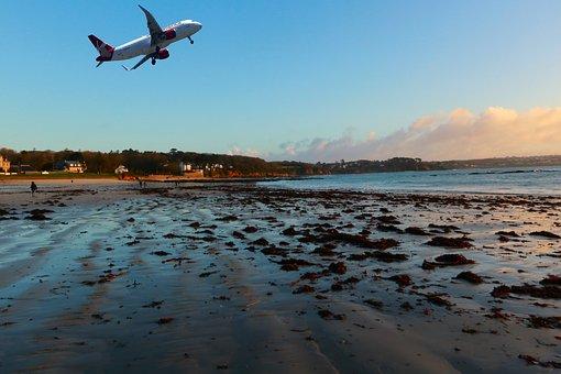Nature, Beach, Ocean, Sky, Sea, Blue, Tide, Transport