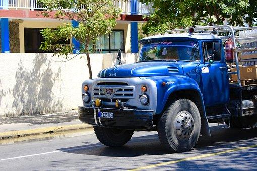 Truck, Cuba, Cistern, Auto, Transport, Chevrolet