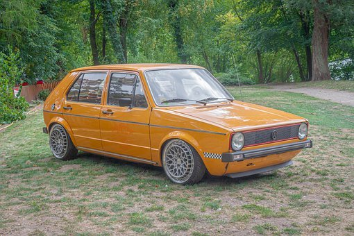 Vw, Golf, Volkswagen, Auto, Vehicle, Classic, Rarity