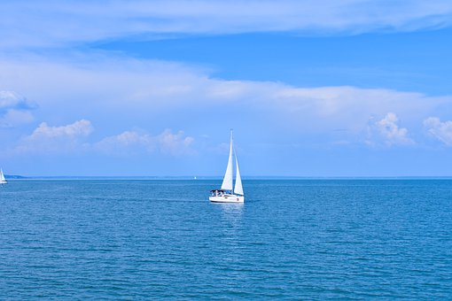 Sail, Water, Hungary, Blue, Budapest, Sky, Nature