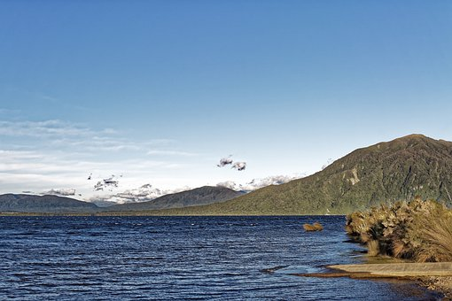 New Zealand, Lake Brunner, Grey District, West Coast
