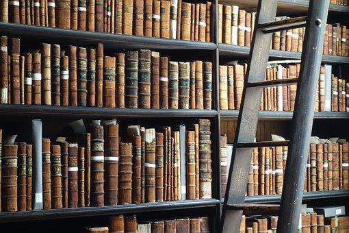 Books, Old, Shelf, Head, Antique, Knowledge, Literature