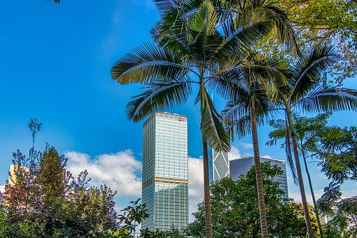 Hong Kong, City, Architecture, Building, Travel, Sky