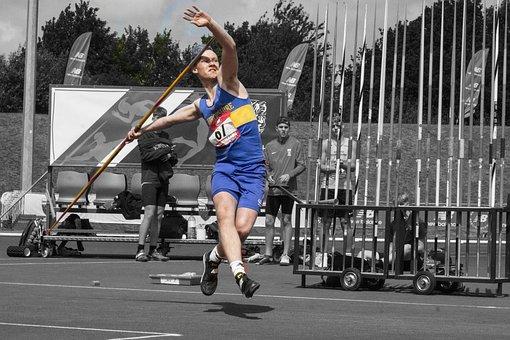Javelin, Throw, Thrower, Throws, Spear, Athletics