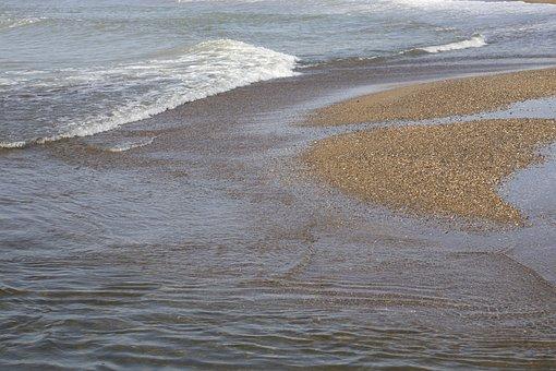 Marine, Beach, Wave, Sand, Holiday