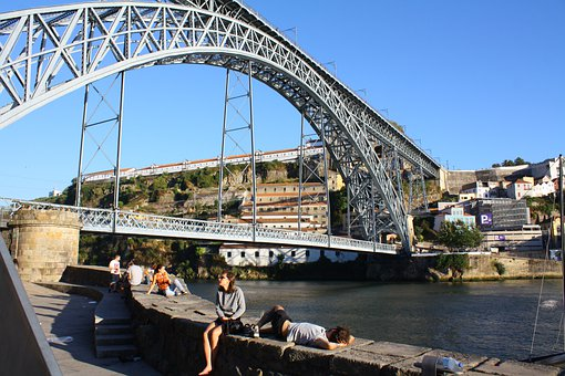 Porto, Bridge, Architecture, Travel, River, Oporto