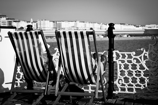 Brighton Pier, Old Couple