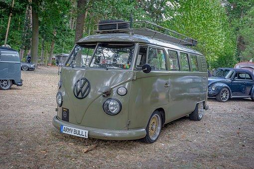 Vw, Volkswagen, Bulli, Transporter, Oldtimer, Classic