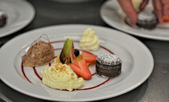 Dessert, Mousse, Ice, Cake, Cream, Sweet, Delicious