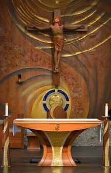 Altar, Jesus, Church, Faith, Catholic