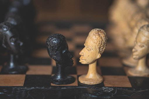 Chess, Chess Pieces, Wooden Figures, Chess Board