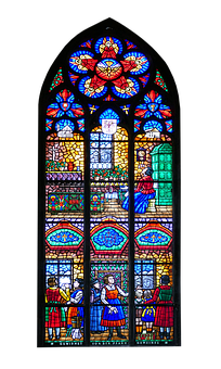 Church Window, Stained Glass, Church