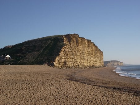 Cliffs, East Cliff, West Bay, Dorset, England, Uk