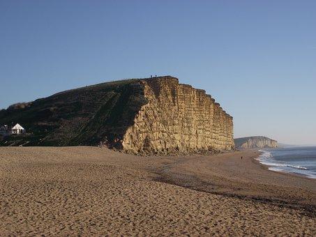 Cliffs, East Cliff, West Bay, Dorset, England, Uk