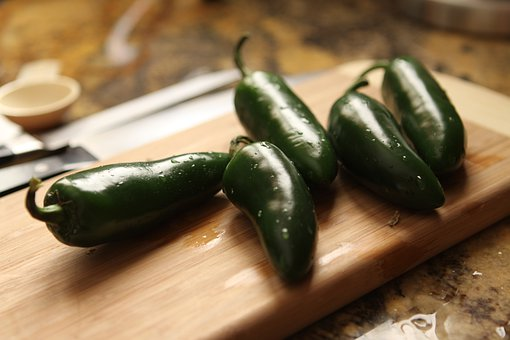 Peppers, Jalapeno, Spicy, Food, Fresh