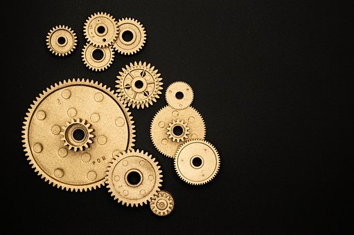 Circle, Gear, Sprocket, Cooperation, Engine, Factory