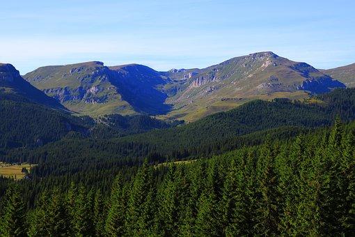Mountain, Bucegi, R, Romania, Landscape, Carpathian