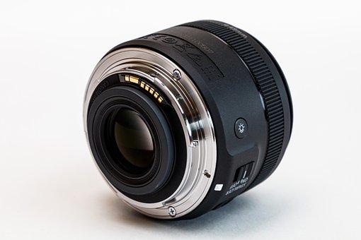 Lens, Canon, Macro Lens Ef-s 35mm, Optics, Photographer