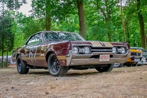 Oldsmobile, Oldtimer, Classic, Muscle, Auto, Vehicle